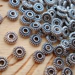 Metal beads by shape