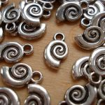 SPIRAL SHELL CHARM