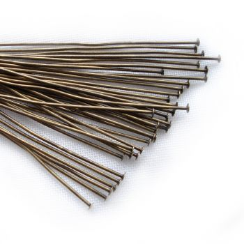 ANTIQUE BRASS HARD PINS