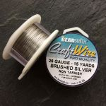 BRUSHED SILVER WIRE