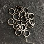 8MM TWISTED JUMP RING