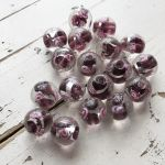 12mm ROUND ROSE BEAD