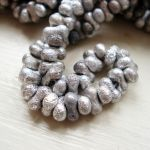 ETCHED PEANUT BEADS