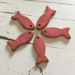 CERAMIC FISH PENDANT