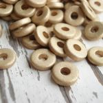 8MM WASHER MATTE GOLD