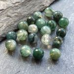 MOSS AGATE 4MM ROUND