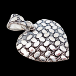 PATTERNED HEART PENDANT